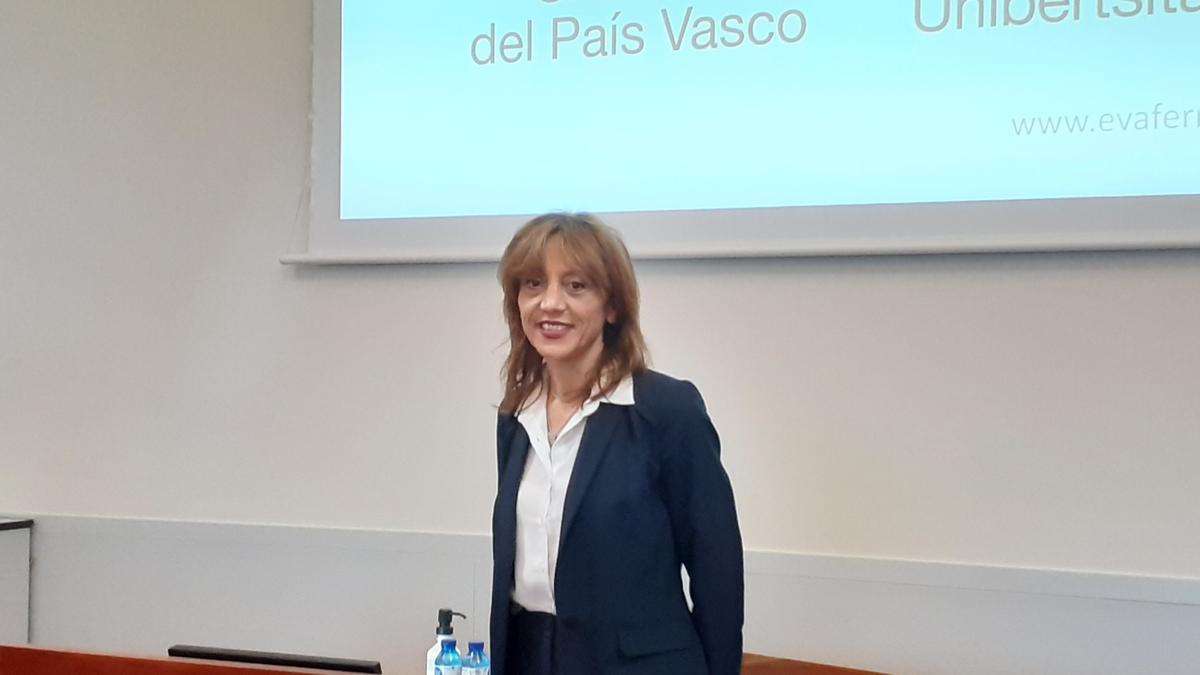 La rectora de la UPV, Eva Ferreira