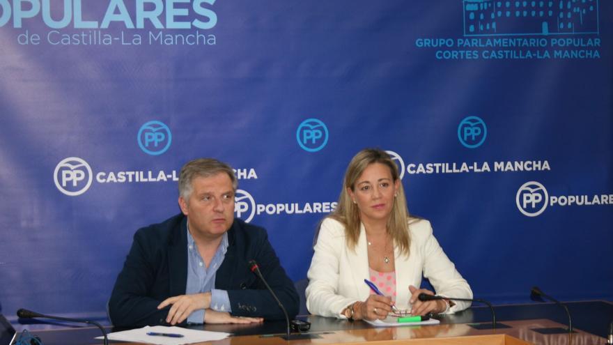 Comparecencia de Paco Cañizares y Lola Merino
