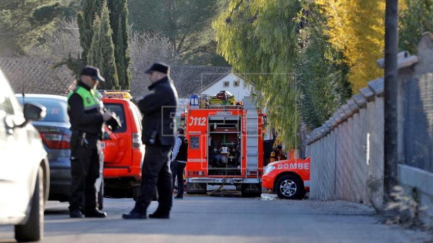 Fallecen dos bebés en el incendio de una casa en Ontinyent (Valencia)