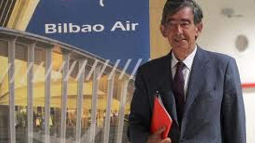 Jon Gangoiti, director de la sociedad pública Bilbao Air.