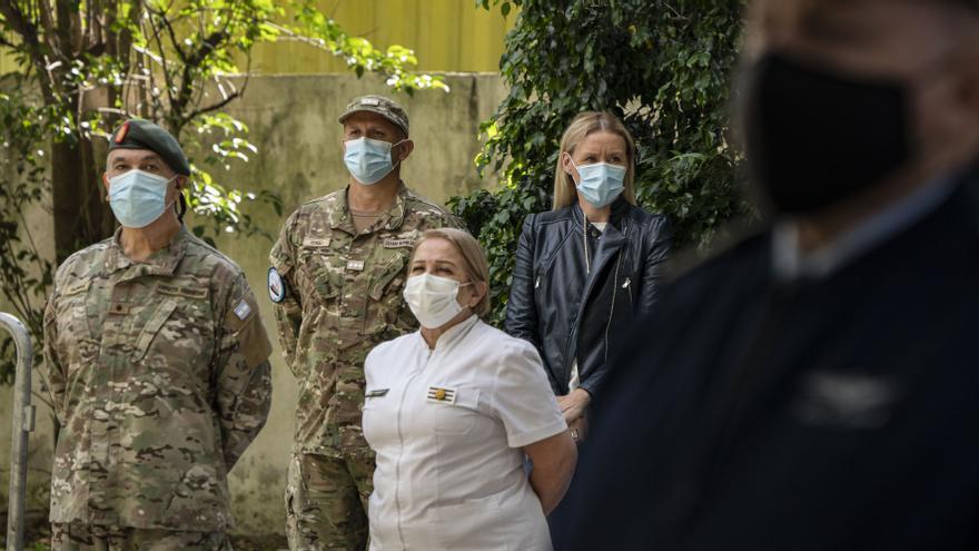Argentina vacuna al personal de las Fuerzas Armadas: las fotos