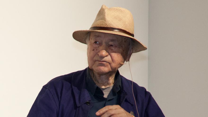 El cineasta Jonas Mekas en 2011