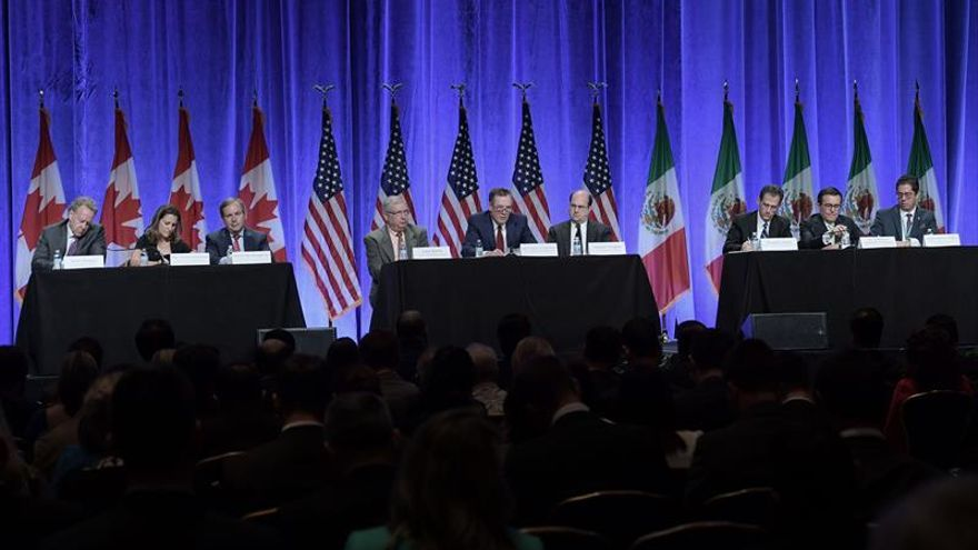 México, firme ante los arranques de Trump al iniciar segunda ronda del TLCAN