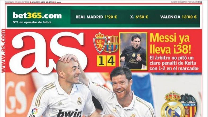 De las portadas del día (08/04/2012) #11