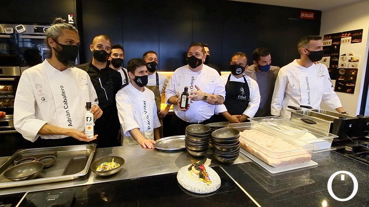 Participantes en el evento Kitchen Club en Fitur 2021