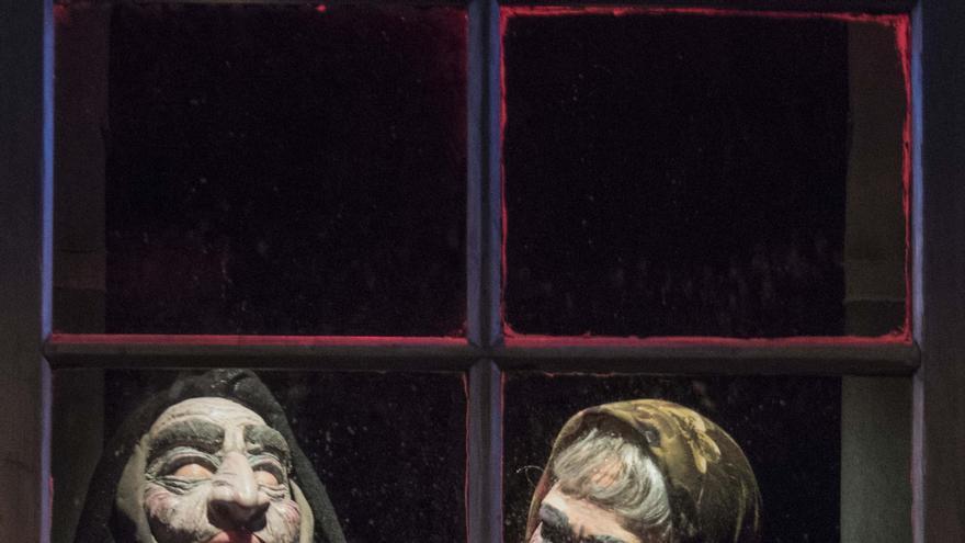 La sala Escena Miriñaque acoge este fin de semana la representación del 'Retablo de la avaricia, la lujuria y la muerte', de Ramón María de Valle-Inclán