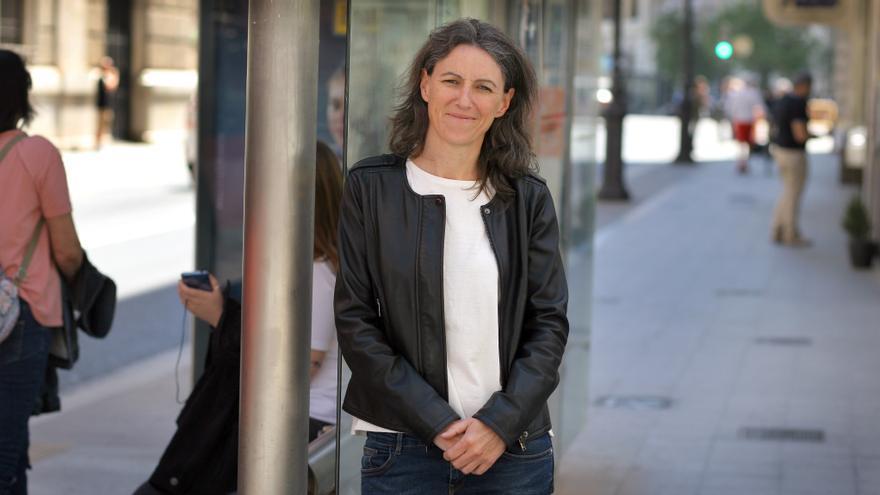 Maria Oliver, candidata de Unidas Podemos al Ayuntamiento de Valencia