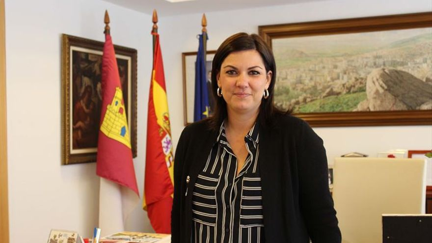 La alcaldesa de Puertollano, Mayte Fernández / Europa Press