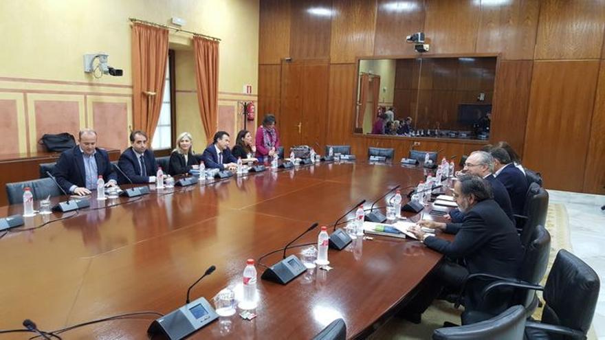 Grupo de trabajo de la reforma de la Ley Electoral de Andalucía.