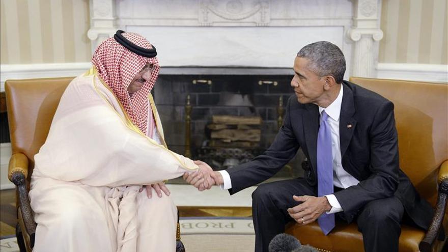 """Obama destaca el papel """"crucial"""" de Arabia Saudí en el combate al EI"""