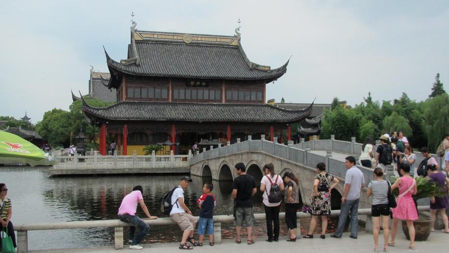 El Templo del Misterio, uno de los más importantes del Taoismo en el sur de China. Owen Richard