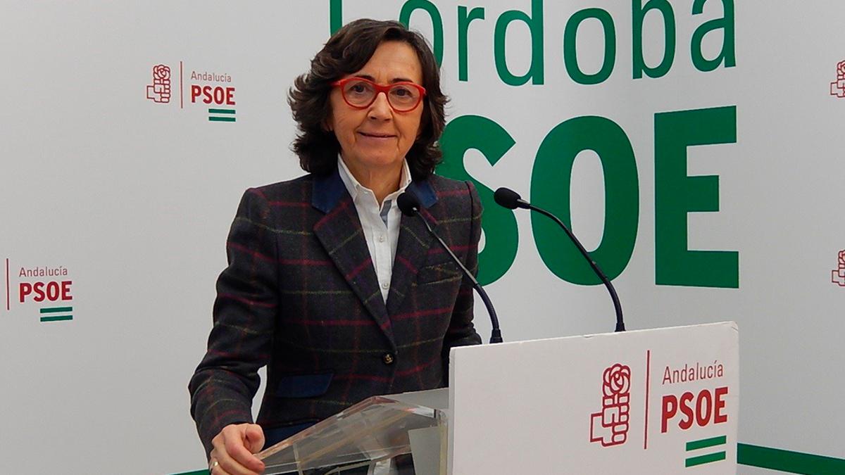 La parlamentaria andaluza del PSOE Rosa Aguilar.