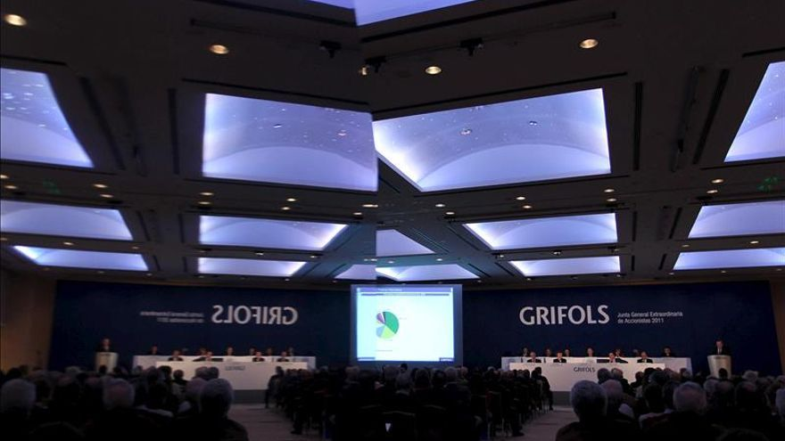 Grifols ganó 339 millones hasta septiembre, un 26,9 por ciento más