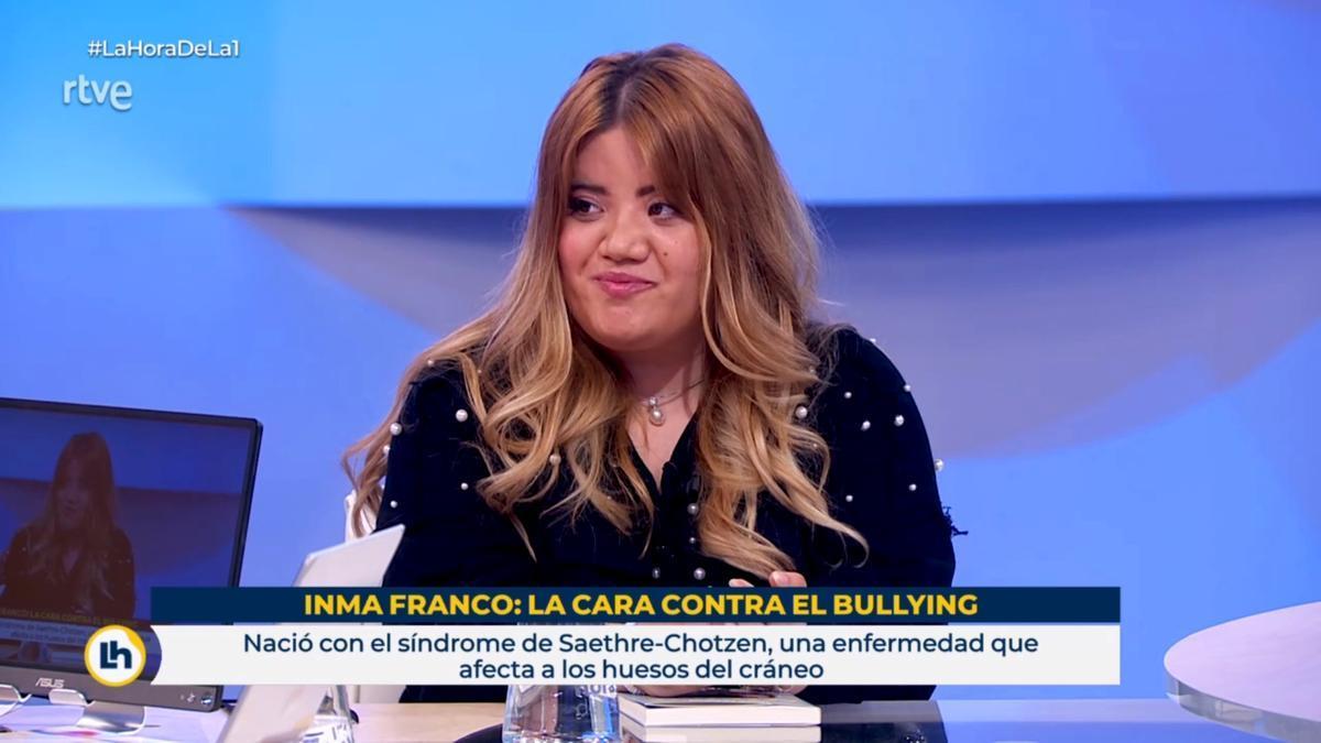 Inma Franco, en 'La hora de La 1'