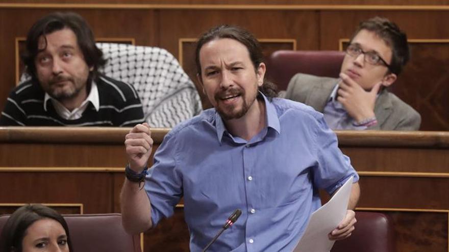 Pablo Iglesias deja la puerta abierta a pactos con ERC y carga contra el PSOE