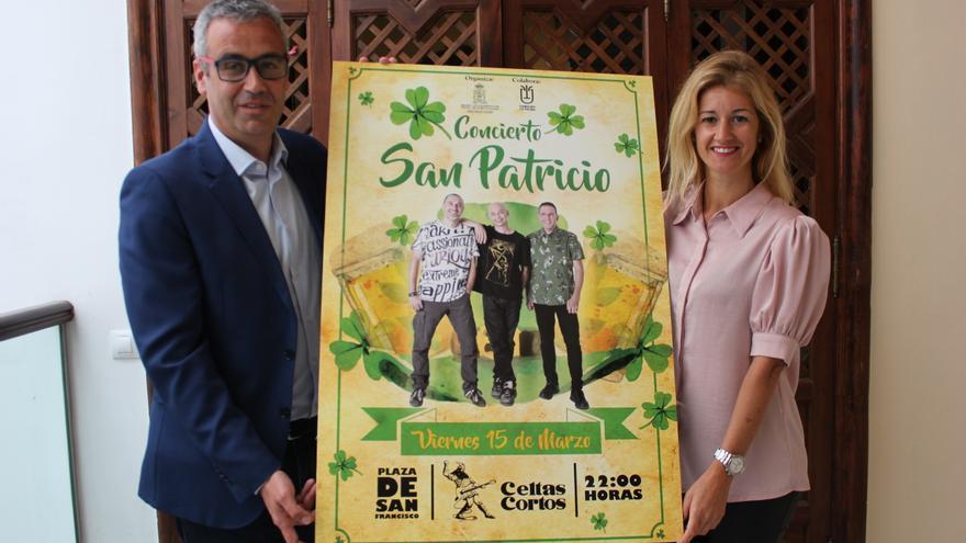 Presentación del concierto de Celtas Cortos.