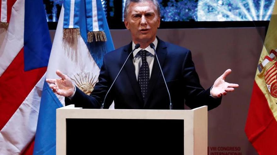 """Macri dice que el pacto con la UE demuestra que los argentinos pueden vivir """"mejor"""""""