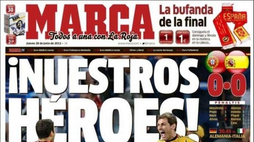 De las portadas del día (28/06/2012) #12