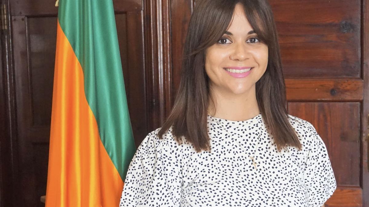 Elena Concepción,  concejal de Acción Social de Los Llanos de Aridane.