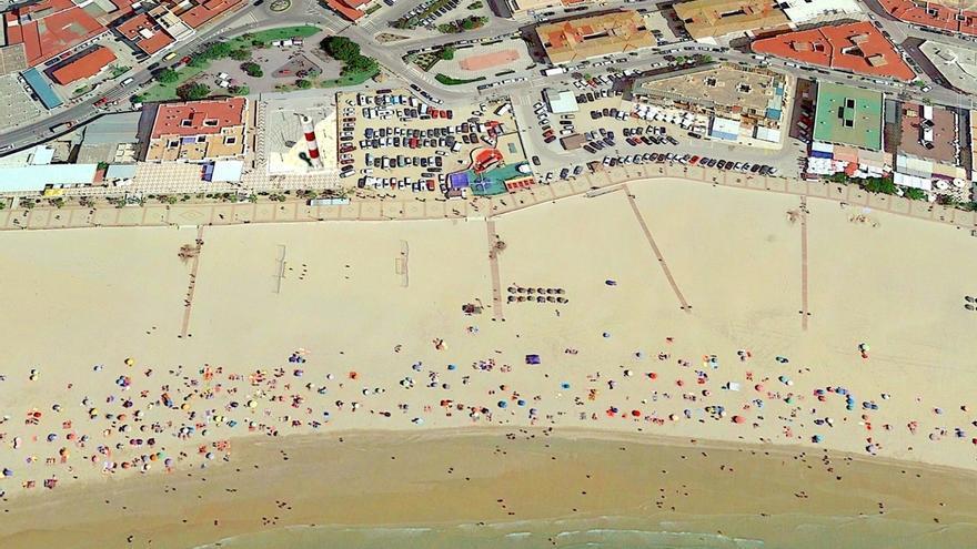 Playa del Carmen, en Barbate