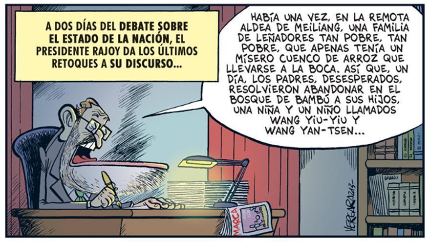El discurso de Rajoy