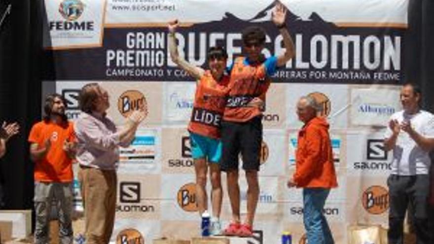 Iván Ortiz y Ana Conde se imponen en la segunda prueba de la copa de España de carreras por montaña FEDME – Gran Premio Buff-Salomon