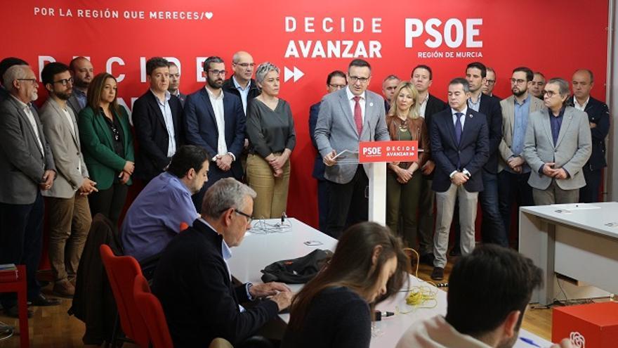 Diego Conesa acusa al Gobierno regional de quedarse con la financiación Estatal destinada a los municipios murcianos