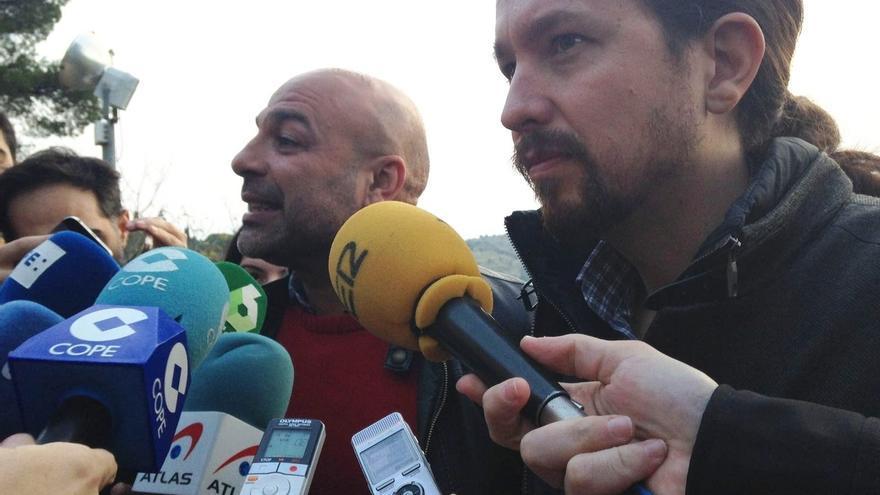 Pablo Iglesias afirma que le gustaría que Molina presente su candidatura para revalidar su cargo en Castilla-La Mancha