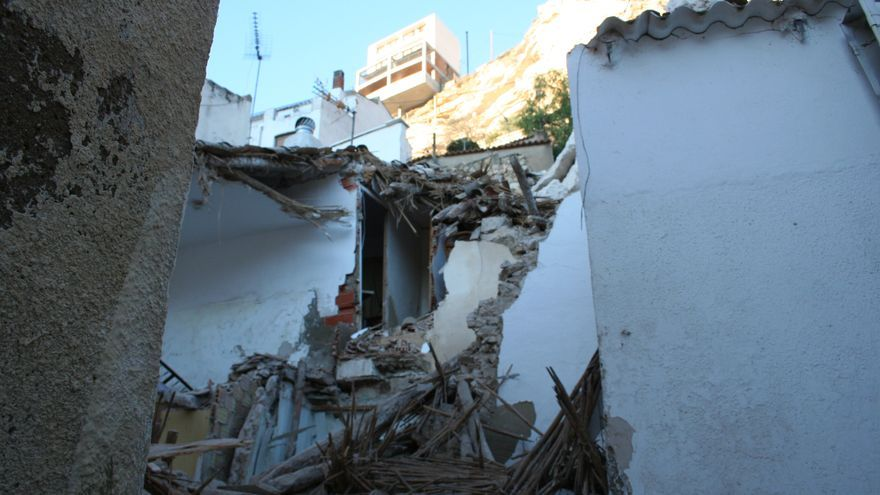 Las viviendas quedaron destrozadas