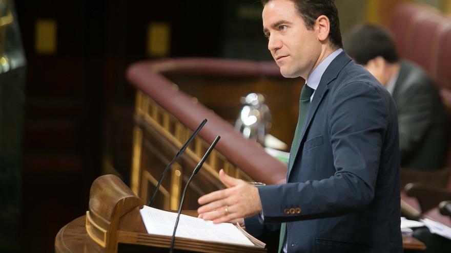 """García Egea dice que el eslogan """"Vuelve el PP"""" no ningunea a Rajoy sino que alude al partido que aglutinaba a la derecha"""