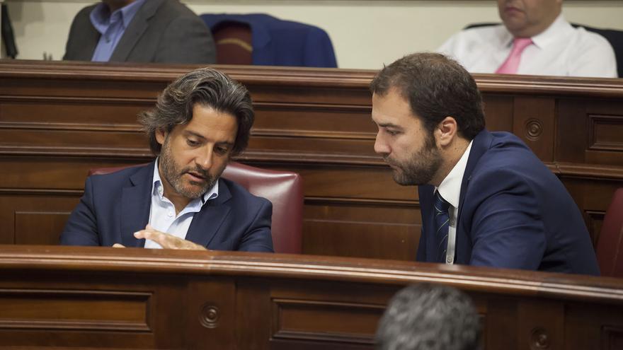 El portavoz de Industria, Energía, Comercio y Consumo del Grupo Parlamentario Socialista Gustavo Matos