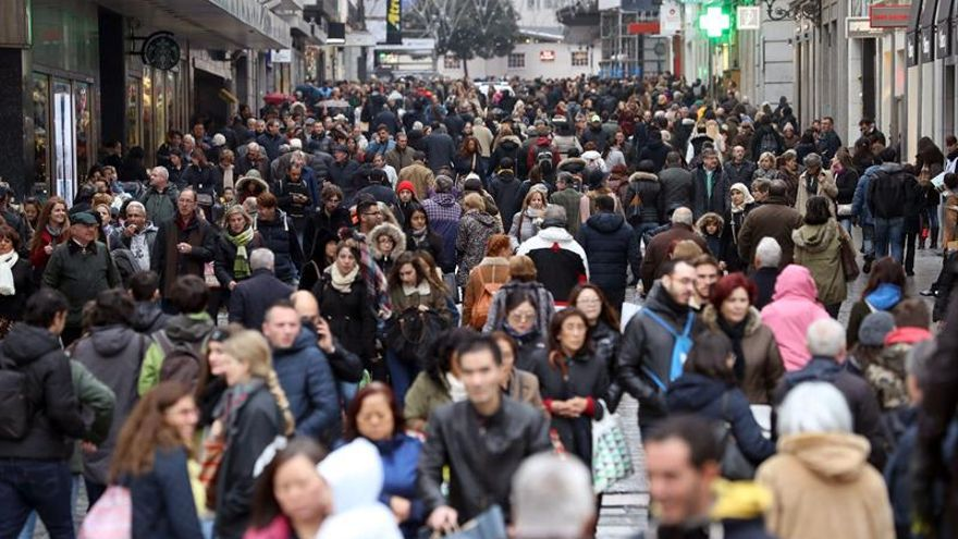 Cinco años perdiendo población