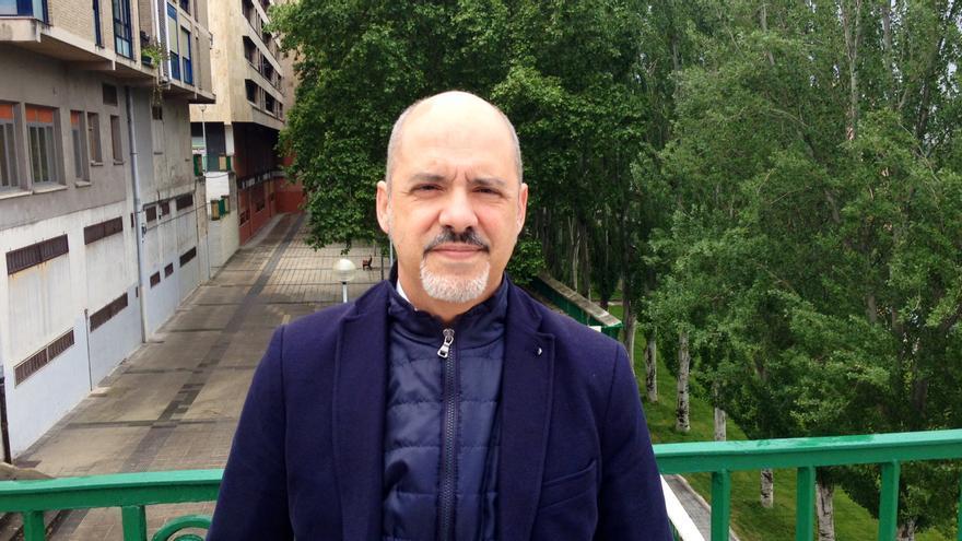 El candidato de Ciudadanos en Navarra, Diego Paños.