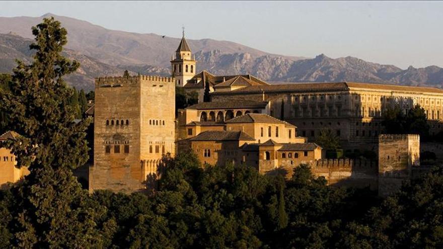 Panorámica de la Alhambra, Granada.