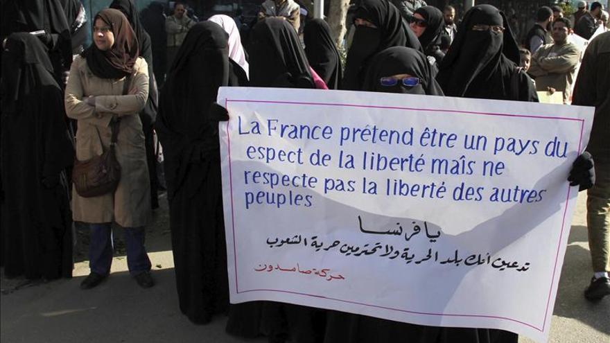 Islamistas egipcios protestan contra la intervención francesa en Mali