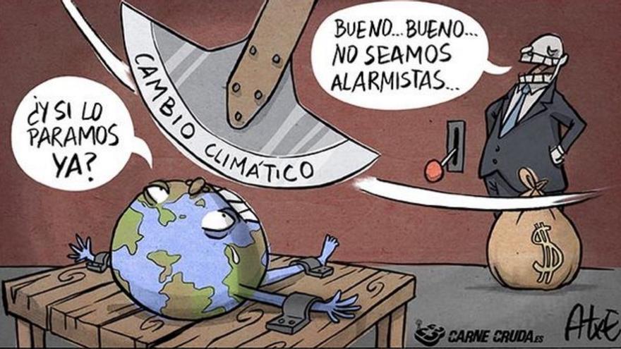Cambio climático, por Atxe