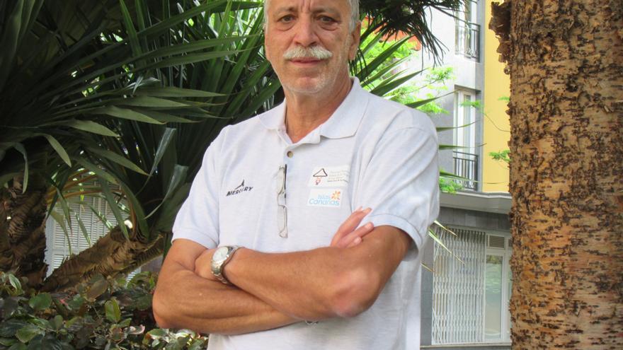 Alonso Lugo dirige Los Enanos desde hace cinco Bajadas. Foto: LUZ RODRÍGUEZ.