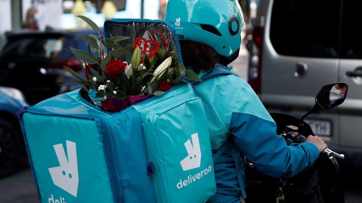 Riders de Deliveroo en una imagen de archivo.