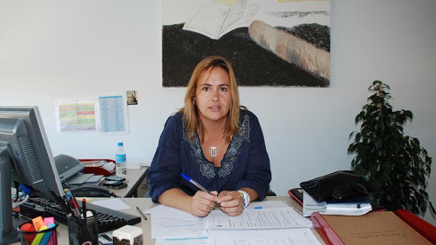 La alcaldesa de Mejorada del Campo, Cristina Carrascosa / Foto: Ayuntamiento