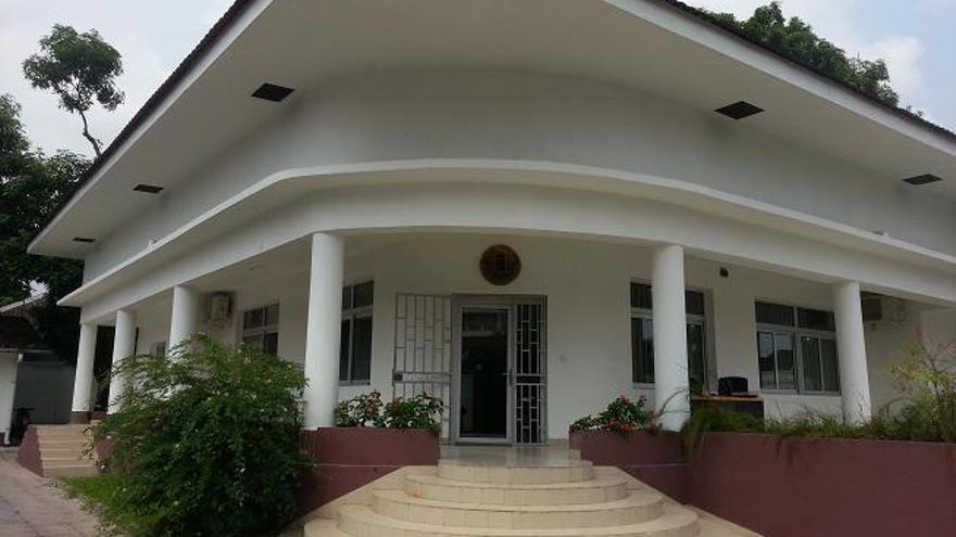 Edificio de la Embajada española en la República Democrática del Congo