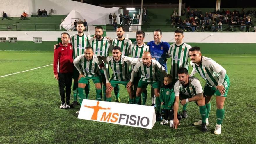 Formación del Atlético Victoria frente al San Lorenzo