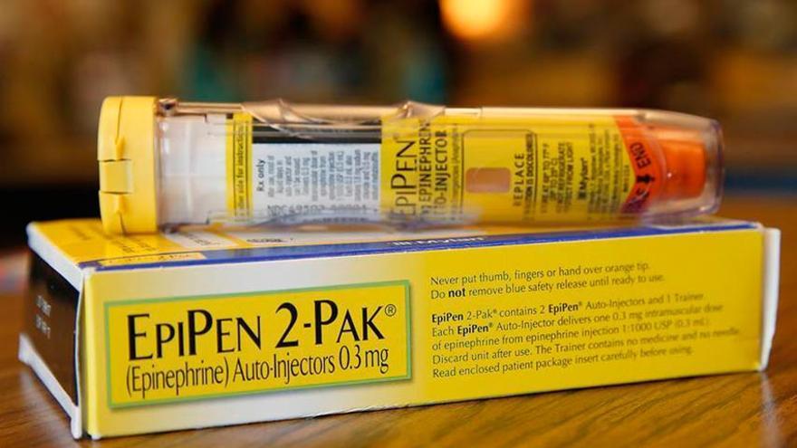 Pack de inyecciones de epinefrina EpiPen