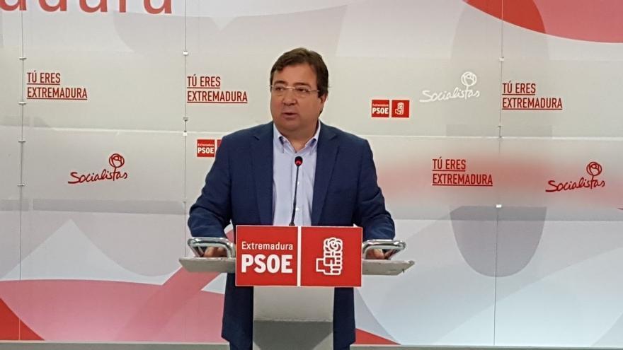 Vara explica que desde el Consejo de Política Federal de PSOE coordinará a los 'barones' entre si y con el Gobierno