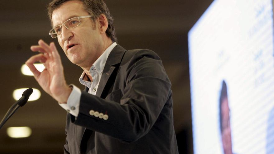 """Feijóo insisteen que Galicia elige entre el PP o un quintapartito que recuperará """"errores"""" y """"shows"""""""