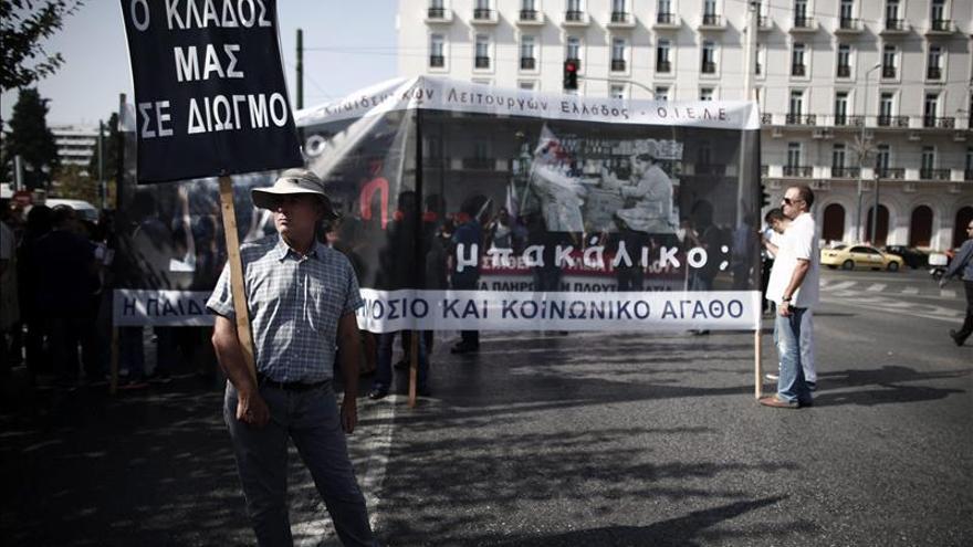 Grecia vive la quinta de huelga general del año contra los recortes de Gobierno
