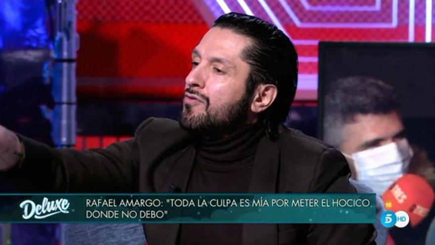 Rafael Amargo, en el 'Domingo Deluxe'