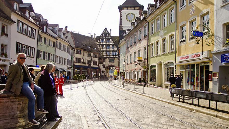 La Martinstor (Torre de Martín) es una de las antiguas puertas del recinto amurallado de Friburgo de Brisgovia. El casco histórico de esta ciudad es de los mejor conservados de Alemania.