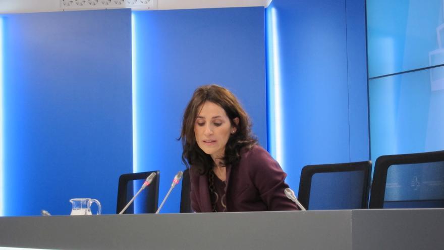 Presidenta Parlamento vasco fue a la manifestación para ratificar que el camino son los derechos humanos