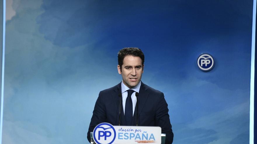 """García Egea (PP) dice que Moreno debe liderar el cambio en Andalucía y pide a Cs hablar de medidas y """"menos de cargos"""""""