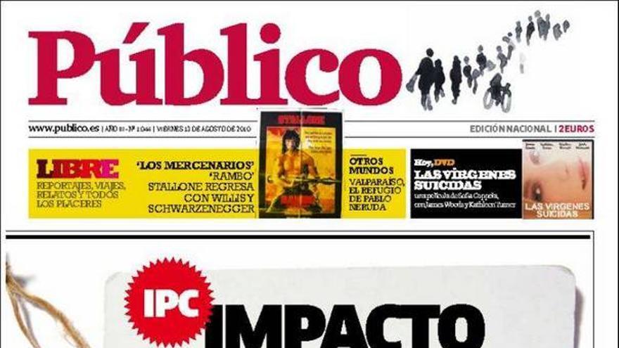 De las portadas del día (13/08/2010) #11